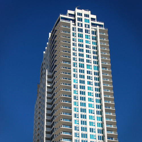 A tall building in Gibson Springs
