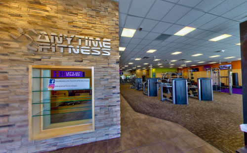 Receiving area of Anytime Fitness Desert Inn, Las Vegas