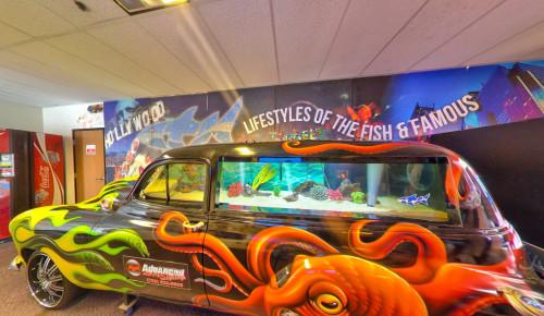 Acrylic Tank Manufacturing's building facade - an aquarium manufacturer in Las Vegas, NV